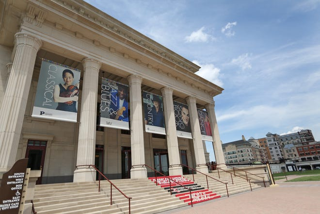 The Center for the Performing Arts includes The Palladium concert hall, in the Carmel City Center, Tuesday, June 17, 2014.