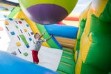 Take a tour of the world's largest bounce house, the 10,000 square foot Big Bounce America, at Waterman's Family Farm in Indianapolis, Sept. 14, 2018.