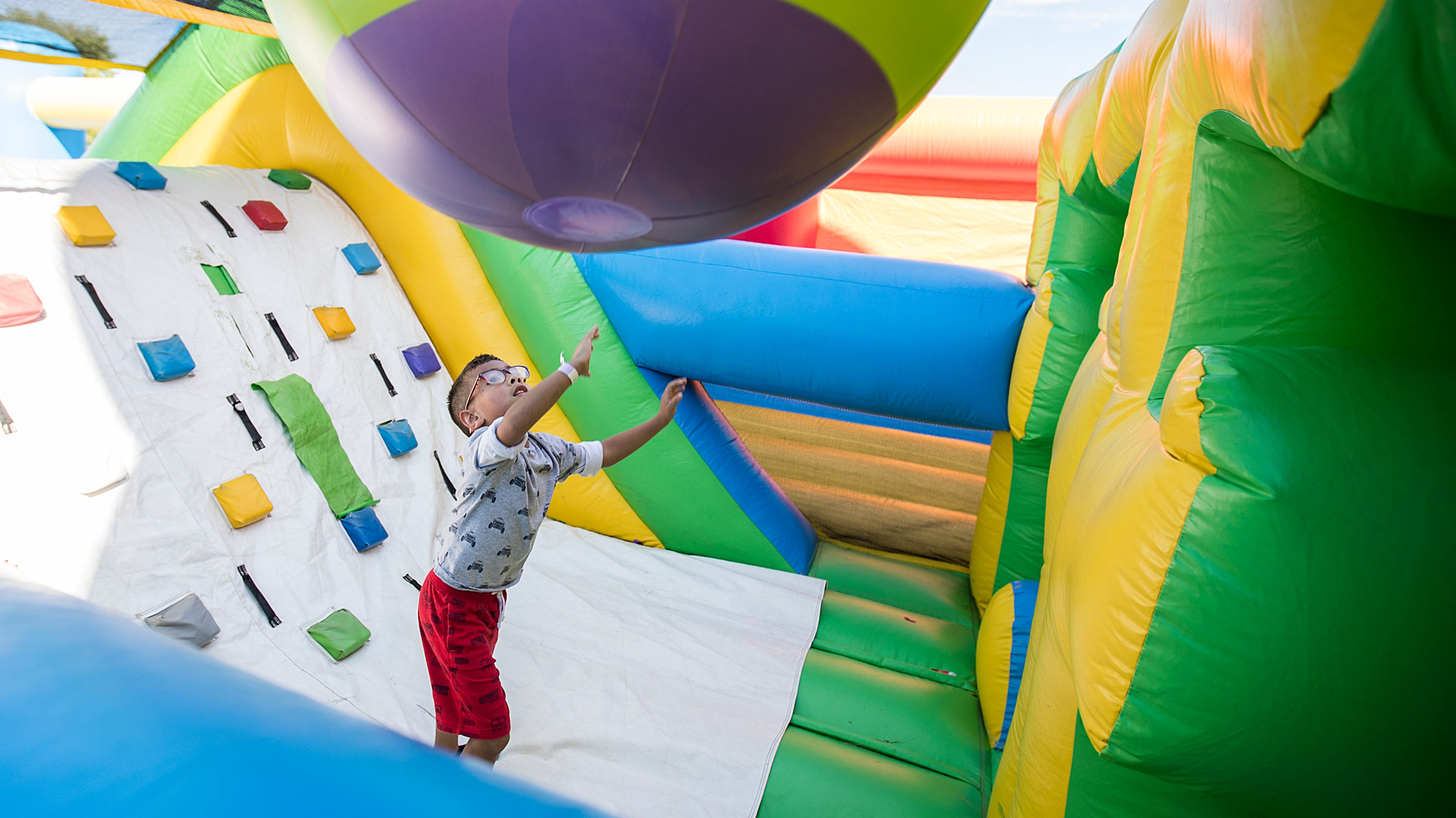 Tour the world's largest bounce house through the eyes of ...