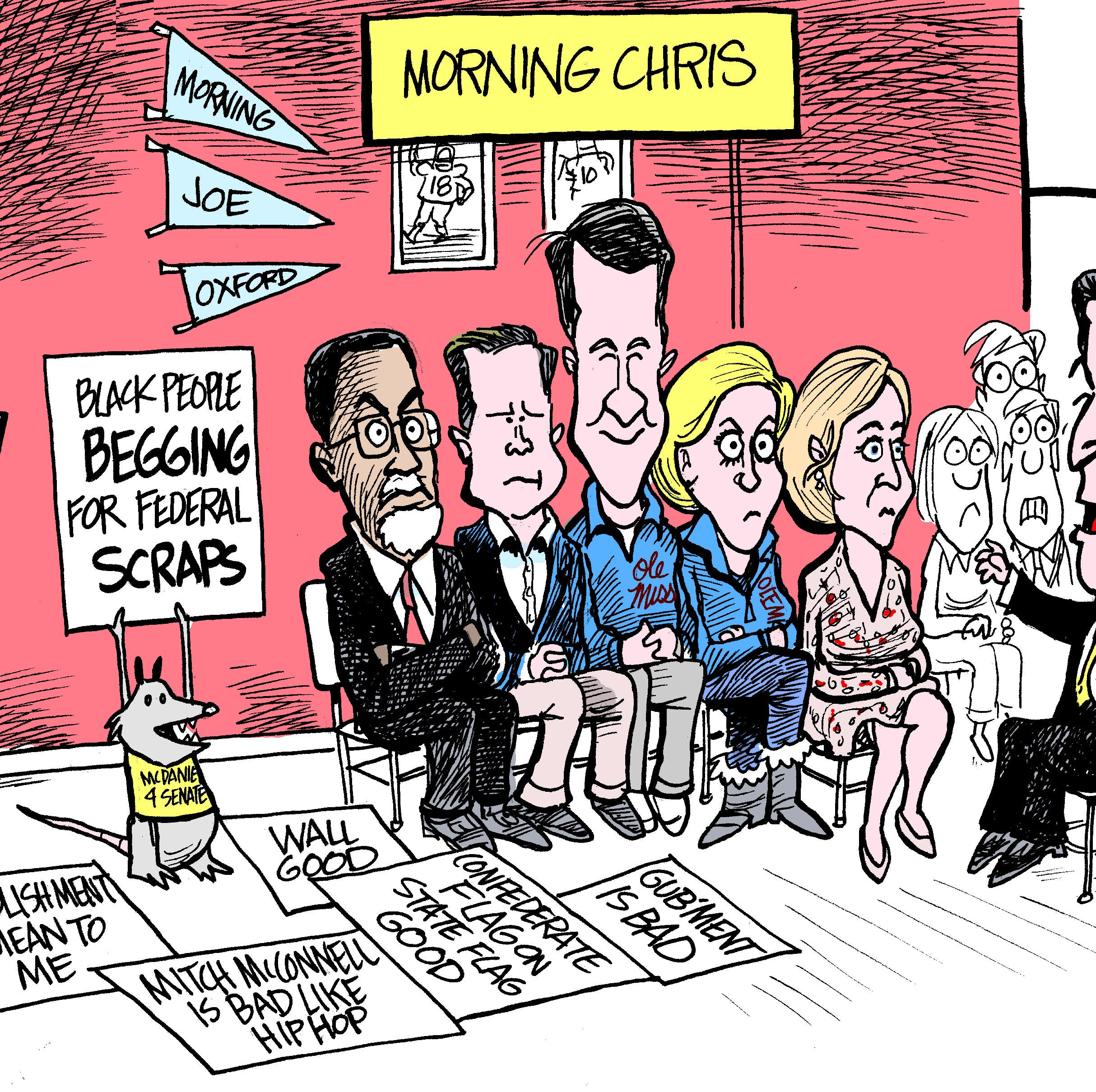 Chris McDaniel's Morning Joe comments missed point of state's fiscal realities