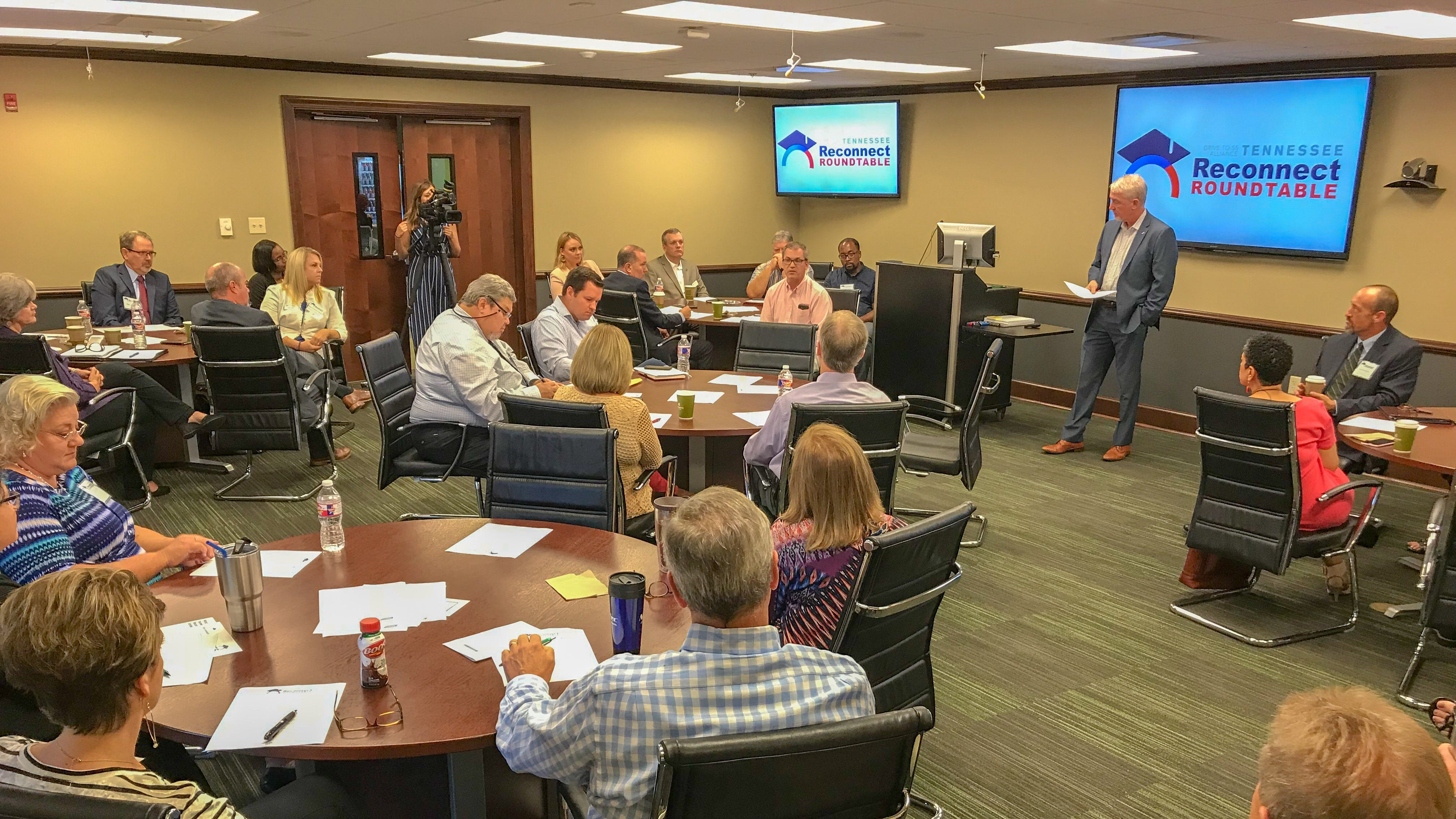 Drive to 55 Alliance hosts first Tennessee Reconnect Roundtable in Jackson