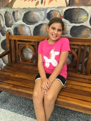 Madalynne Mathis is a fifth-grade student at Dogwood Elementary.