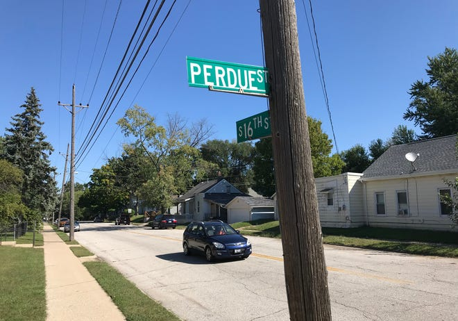 Perdue Street in Lafayette has been spelled differently that Purdue University since 1982, when city officials tried to cut down on theft of street signs.