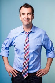 Comedian and actor Matt Braunger will perform in Lafayette in January. Tickets and details at LafayetteComedy.com.