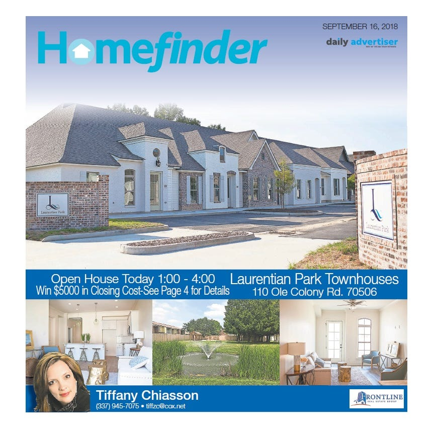 Homefinder: Sept. 16, 2018