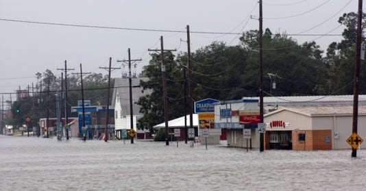 Delcambre flooding