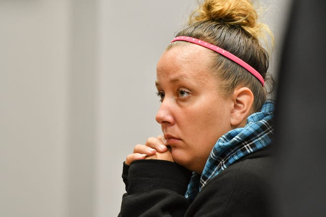 Sarah Conde, shown here during a hearing in 54A District Court  on Friday, Sept. 14, 2018.