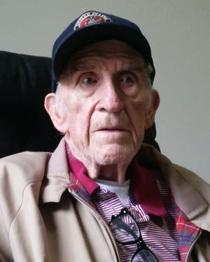 Sheldon Miller, 89, served in the United States Marin Corps in the late 1940s.
