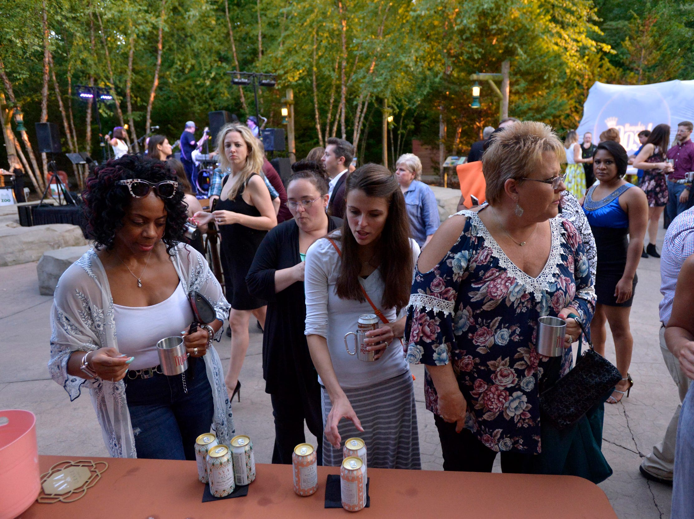September 13, 2018 - Scenes from the 2018 Memphis Most awards party at Teton Trek in the Memphis Zoo. (Brandon Dill for The Commercial Appeal)