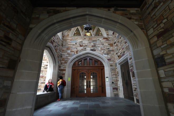 Rhodes College campus Thursday, Sept. 13, 2018.