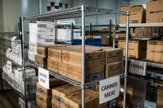 September 14 2018 - The food pantry at George Washington Carver College and Career Academy will not only will supply canned foods, but will distribute fresh produce and include a garden for growing vegetables.