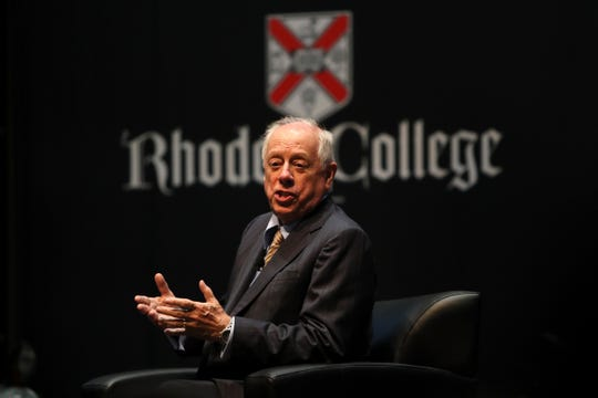 Former Tennessee Gov. Phil Bredesen spoke at Rhodes College in Memphis on Sept. 13. Rhodes College was slated to host a Senate debate, but GOP candidate Marsha Blackburn's campaign could not agree on a date. Bredesen held a campaign event in lieu of the debate.