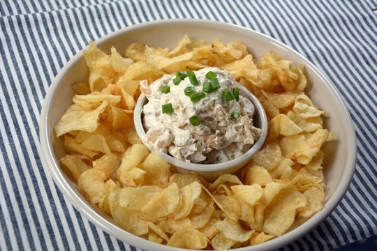 Homemade Vidalia onion dip is so much better than any storebought variety.