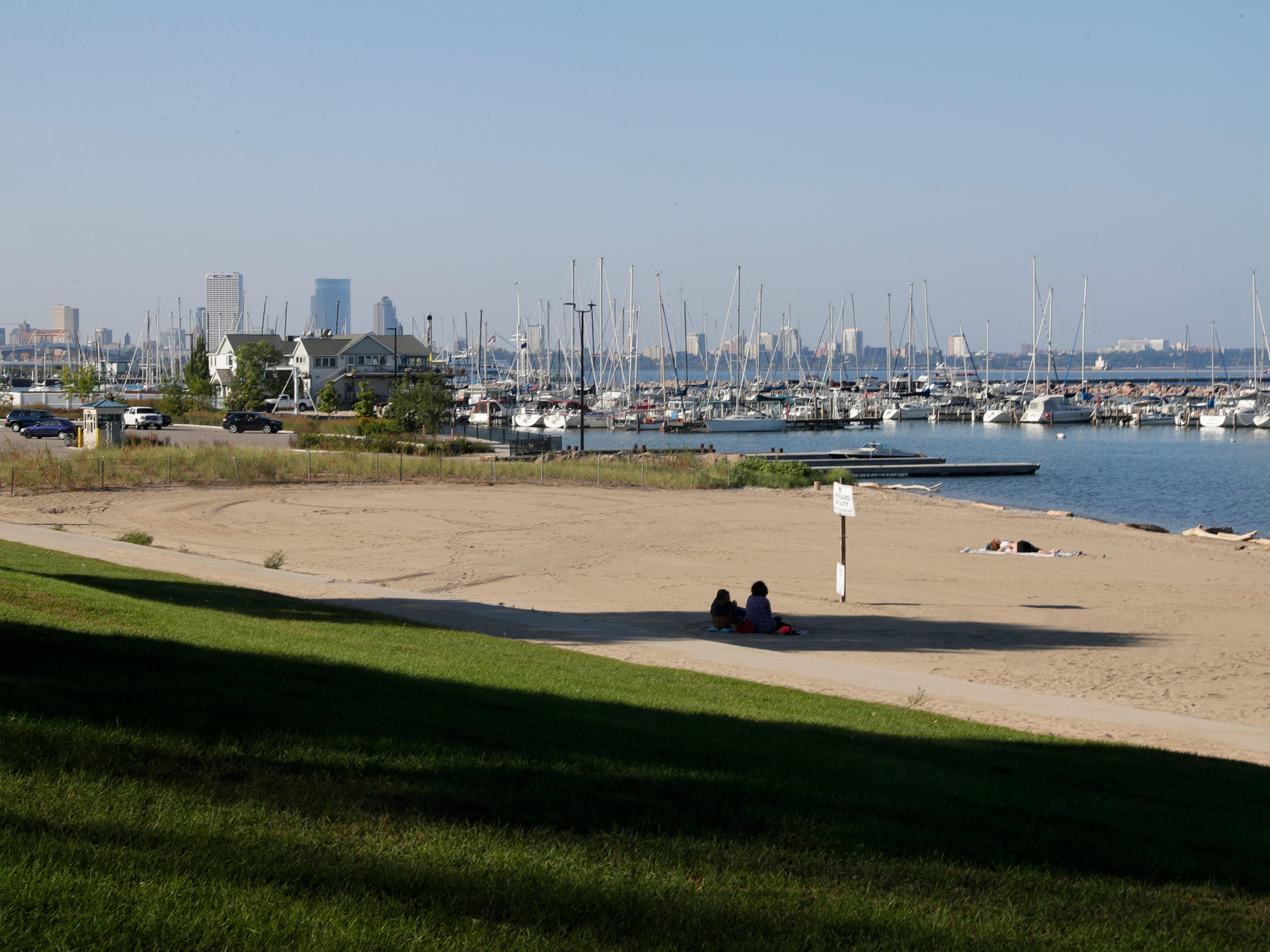 The South Shore Park beach is frequently closed in summer months due to E. coli contamination.