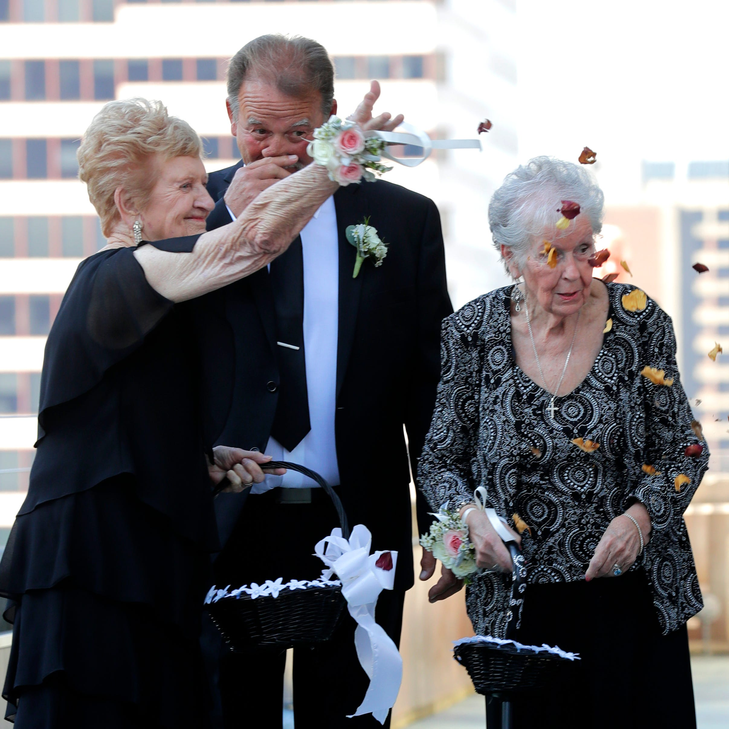 Stingl: Grandmas are wedding flower girls. Wait till you hear where the rose petals came from.
