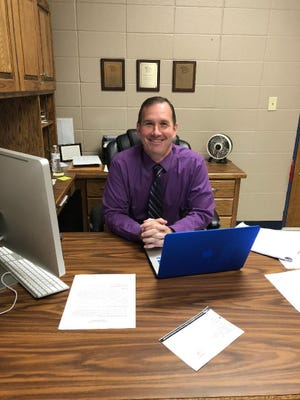 Douglas Corley was hired on July 1 of this year as the principal of Cotter High School. So far, Corley is happy with what he sees going on in the Cotter School District.