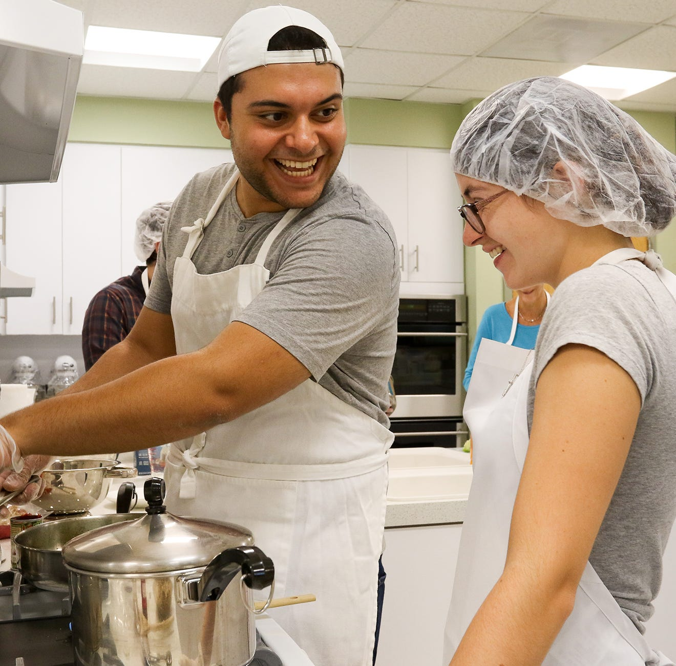 Students 'Chopped' for good cause at College of St. Elizabeth