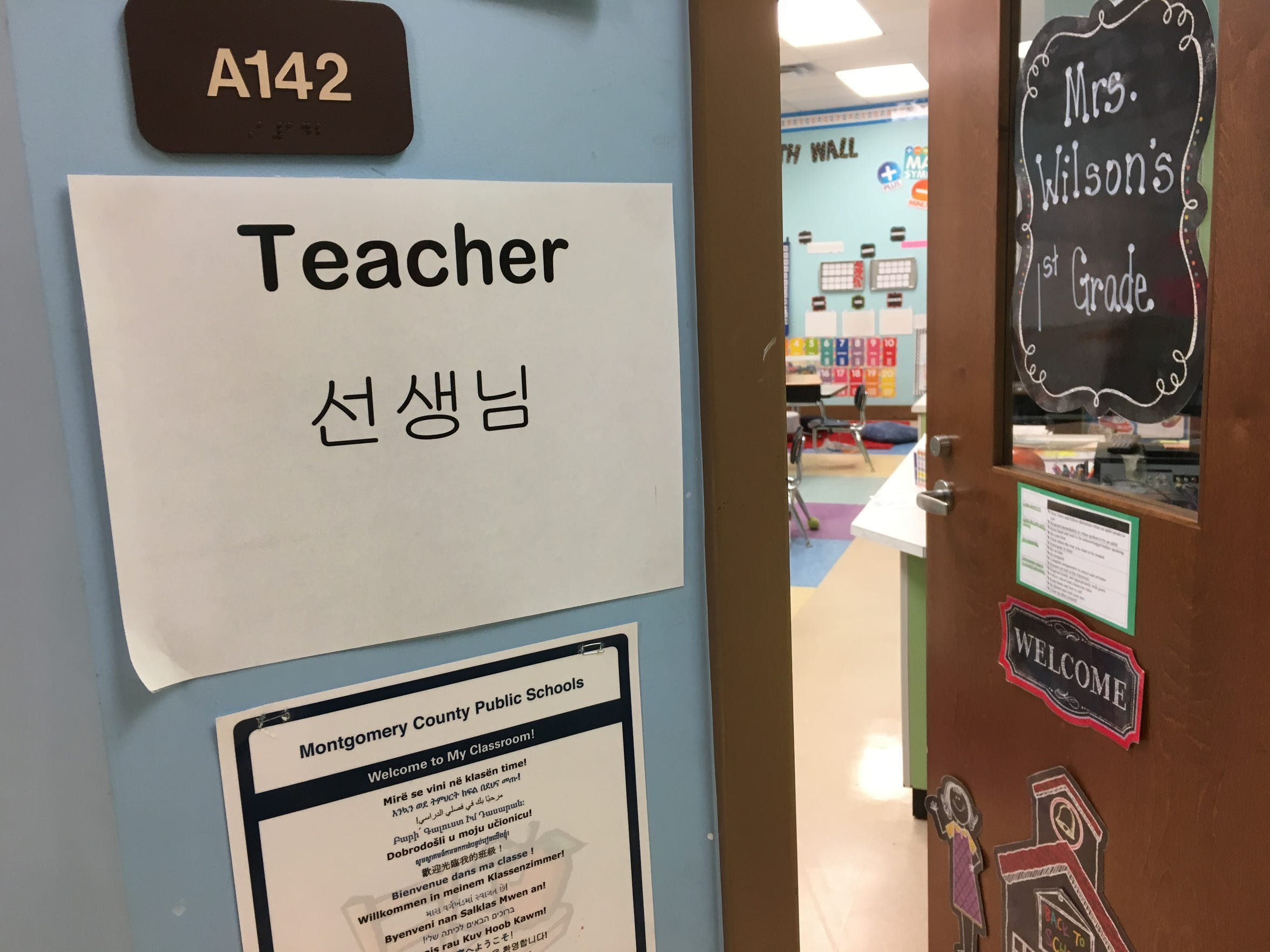 Montgomery Public Schools has 18 full-time and five part-time English as a Second Language teachers.