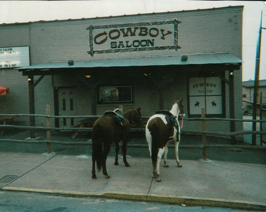 The building where Starr Ranch now sits in Gallatin used to be the Cowboy Saloon.
