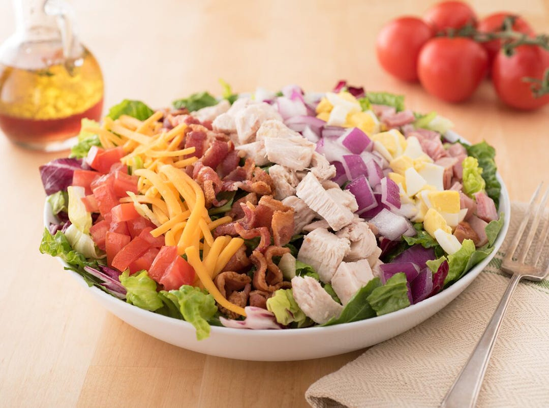 Cobb salad at TooJay's Deli Bakery Restaurant, coming in early 2019 to Mercato in North Naples.