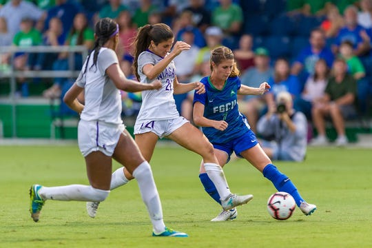 FGCU senior Holly Fritz began her collegiate career with two strong seasons at Florida State.