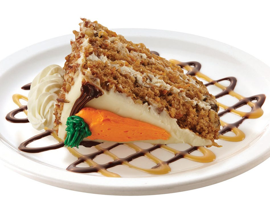 Carrot cake at TooJay's Deli Bakery Restaurant, coming in early 2019 to Mercato in North Naples.