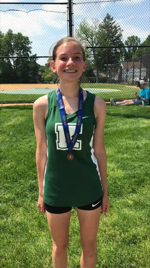 Kinnelon senior cross country standout Emma Kline returns for the Colts after a breakout junior year in which she finished in fifth place in the state sectional meet and sixth in Group 1.