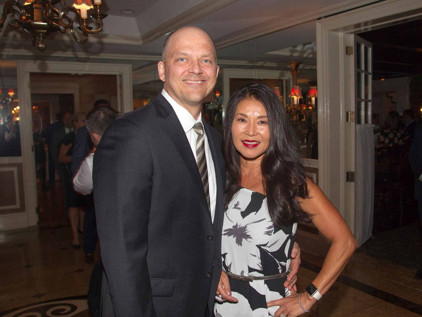 "Jeff and Jacki Lee Fedor. Hackensack University Medical Center Foundation hosted ""Dance in to Ro's World,"" an evening to honor Rosemarie J. Sorce at the Stony Hill Inn in Hackensack. 09/13/2018"