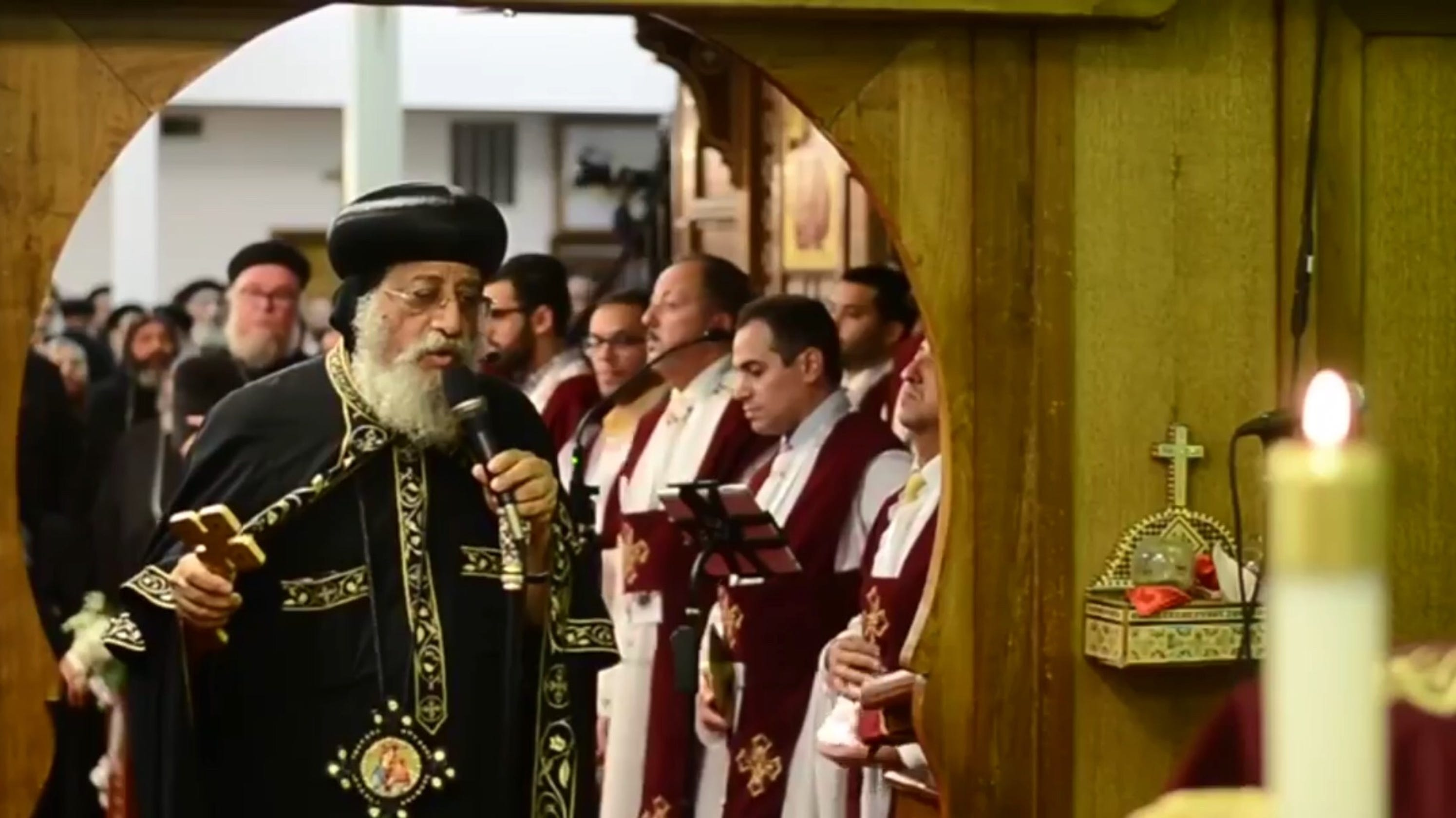 Coptic Orthodox Pope Tawadros Ii To Visit Holmdel