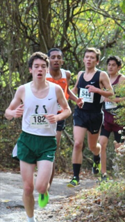 Senior Peter Davin is one of the top returning runners on the Kinnelon boys' cross country team this fall.