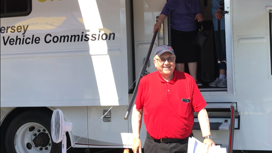 By visiting an MVC van parked at the Teaneck Community Center, Nathan Berenholz managed to renew his license in about 15 minutes, which was much less time than the hours he spent on line during his last renewal at the Lodi office in 2014.