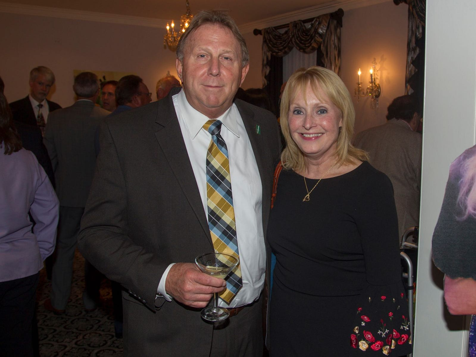 "Dr.John Farkas and Dr. Kaye Walter. Hackensack University Medical Center Foundation hosted ""Dance in to Ro's World,"" an evening to honor Rosemarie J. Sorce at the Stony Hill Inn in Hackensack. 09/13/2018"
