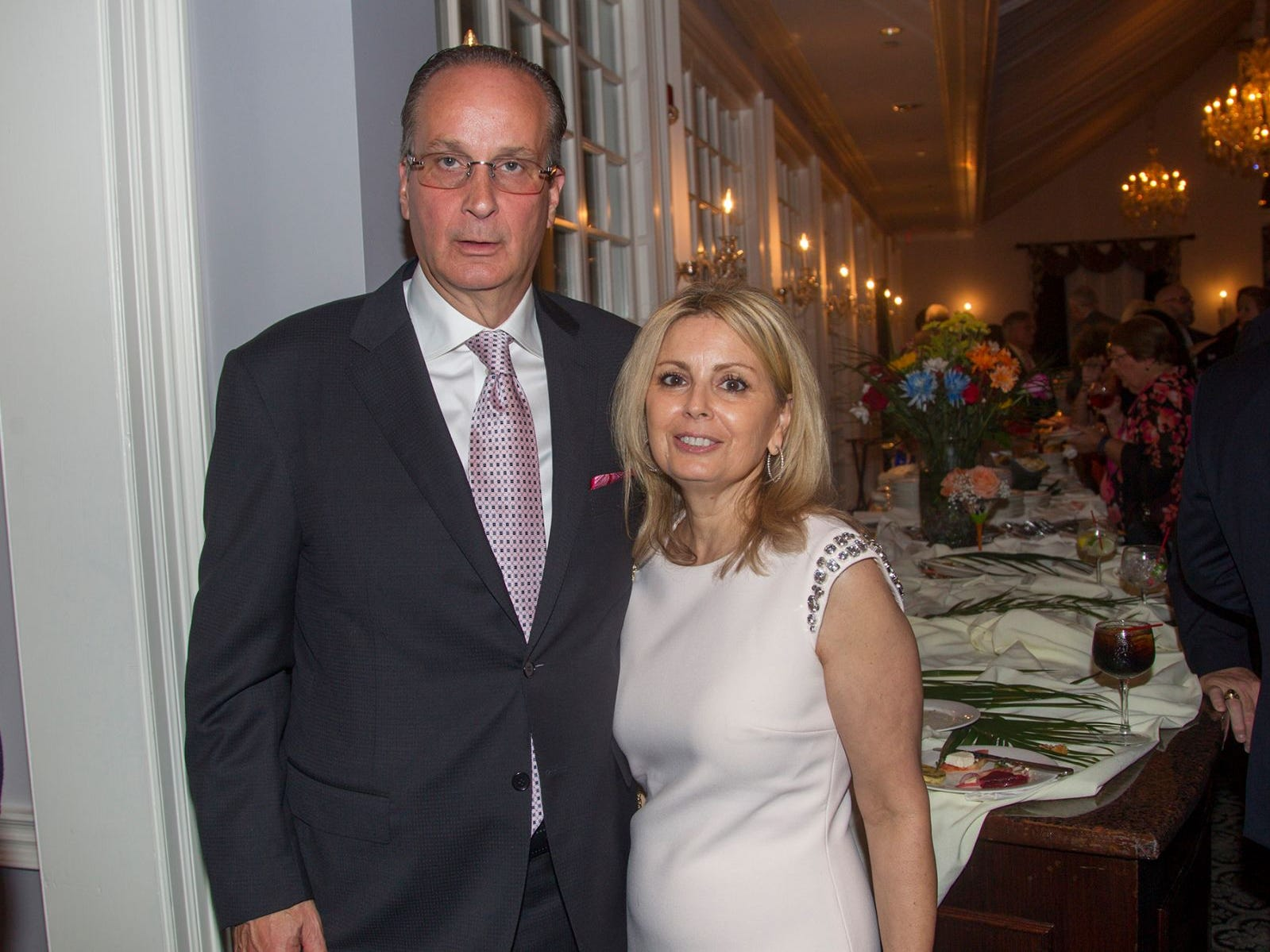 "Glenn and Gina Poppe. Hackensack University Medical Center Foundation hosted ""Dance in to Ro's World,"" an evening to honor Rosemarie J. Sorce at the Stony Hill Inn in Hackensack. 09/13/2018"