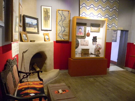 Reconstructed, in part, and restored, Kit Carson's home in Taos home features a broad array of exhibits and artifacts informing of Carson's life.