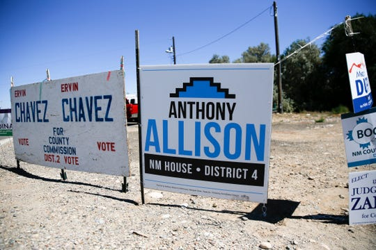 Democratic challenger Anthony Allison says money doesn't have much to do with his bid to unseat state Rep. Sharon Clahchischilliage in the District 4 race.