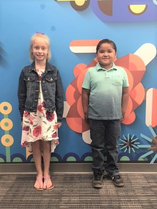 Sierra Vista Primary students of the week