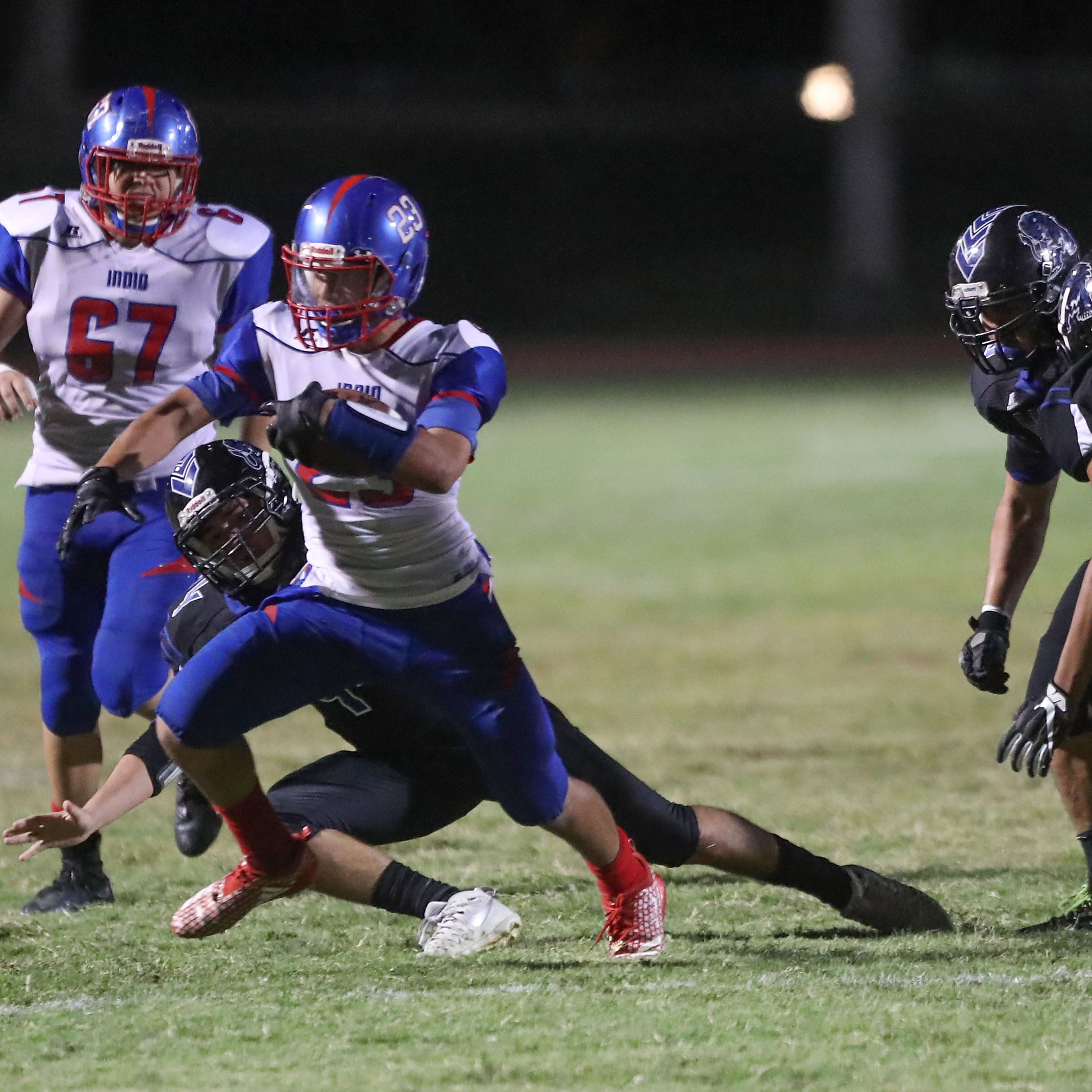 Intentional ground game: Indio, Desert Mirage love to ride their workhorse backs