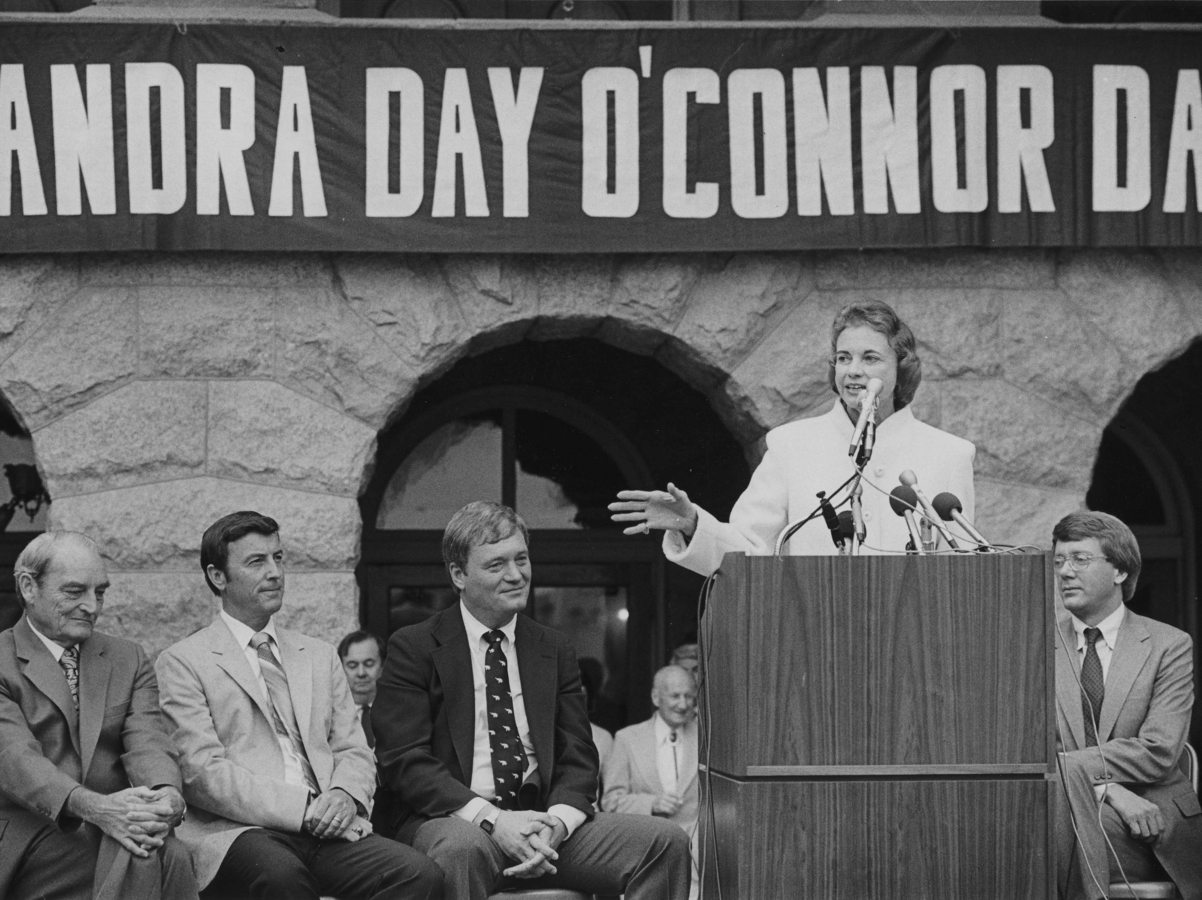 Sandra Day O'Connor in November  1981.