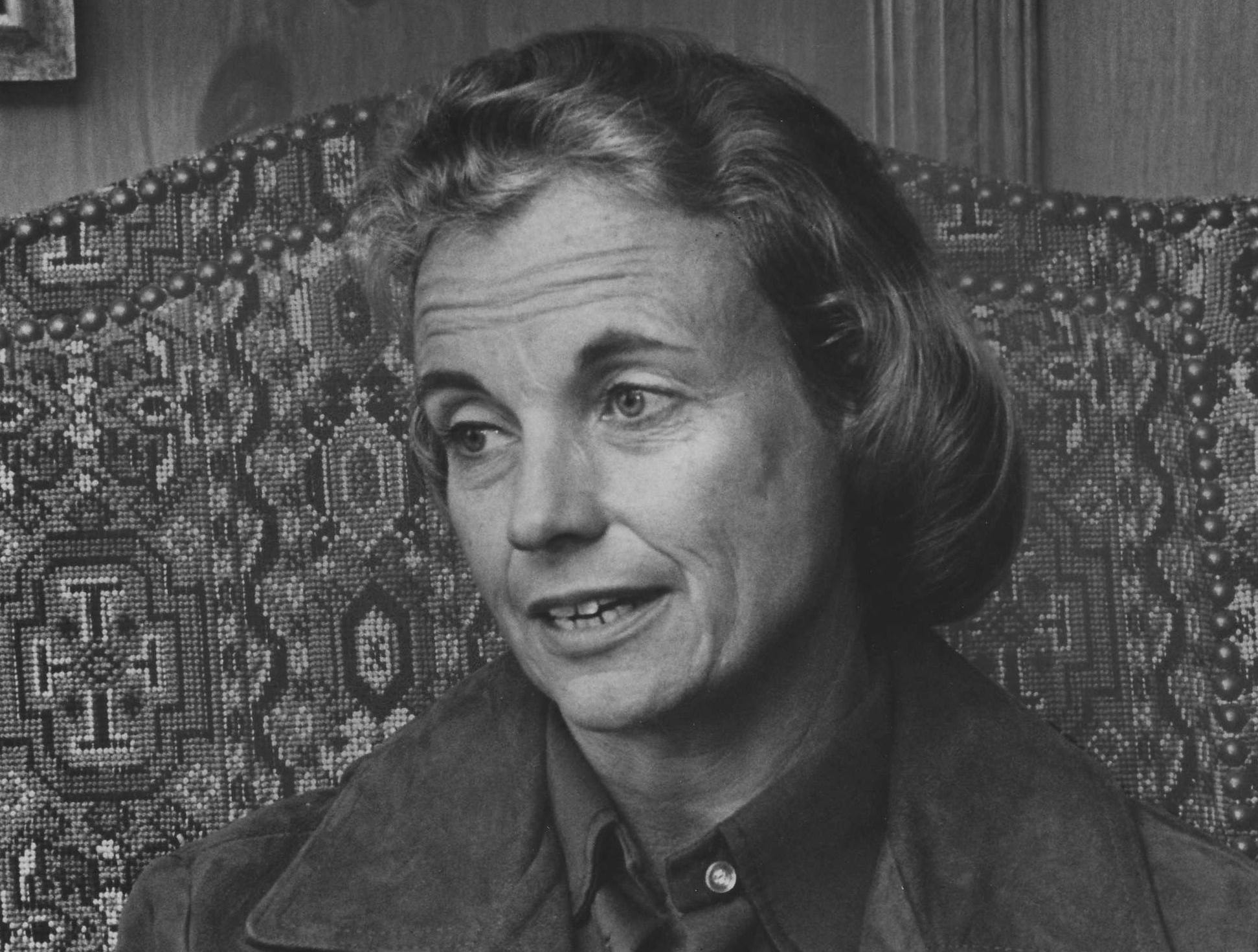 Sandra Day O'Connor in 1974.