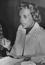 File photo from Jan. 21, 1975, of Arizona Court of Appeals Judge Sandra Day O'Connor.