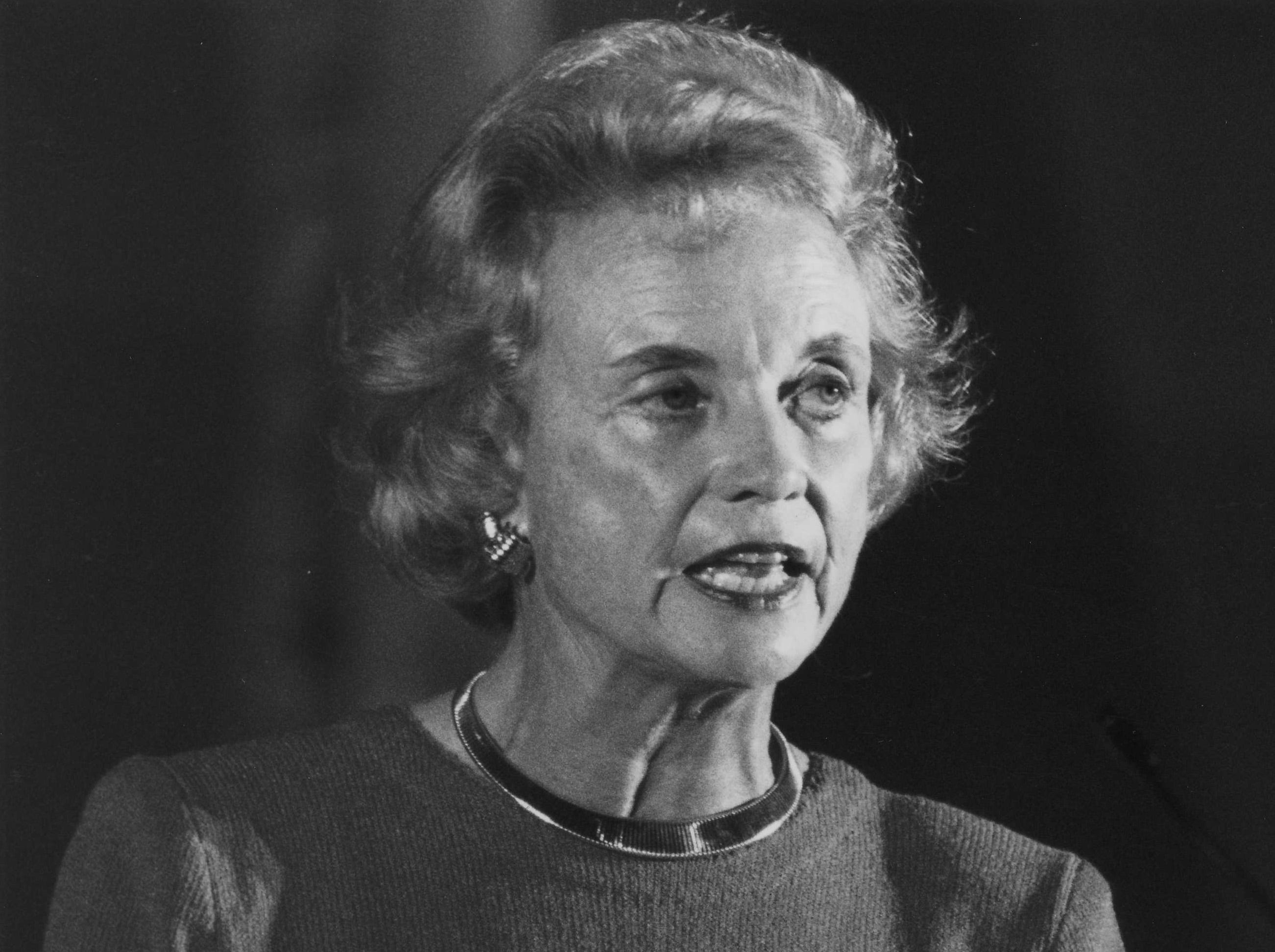 Sandra Day O'Connor at the dedication of ASU West in 1991.
