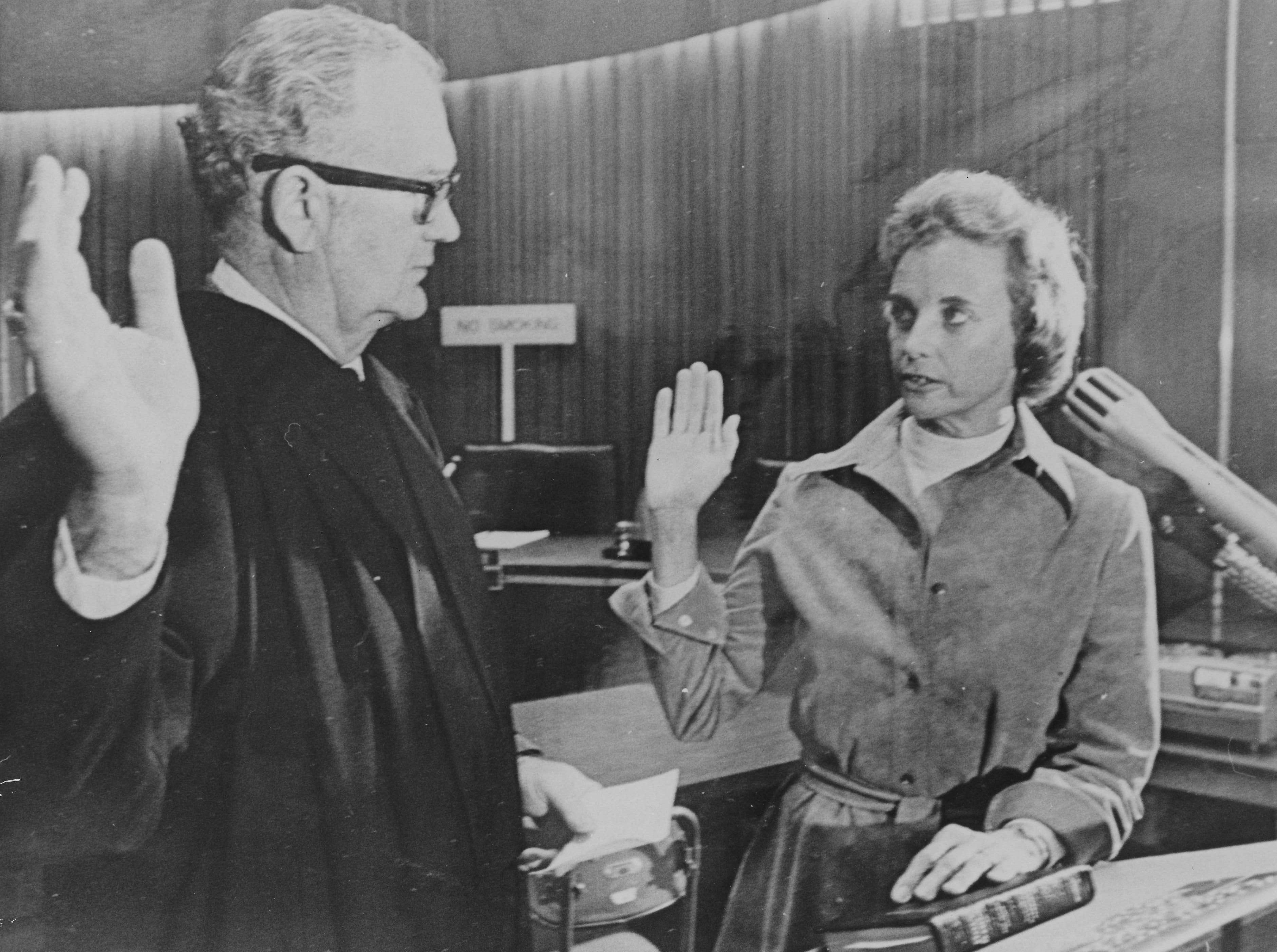 Undated file photo of Sandra Day O'Connor.