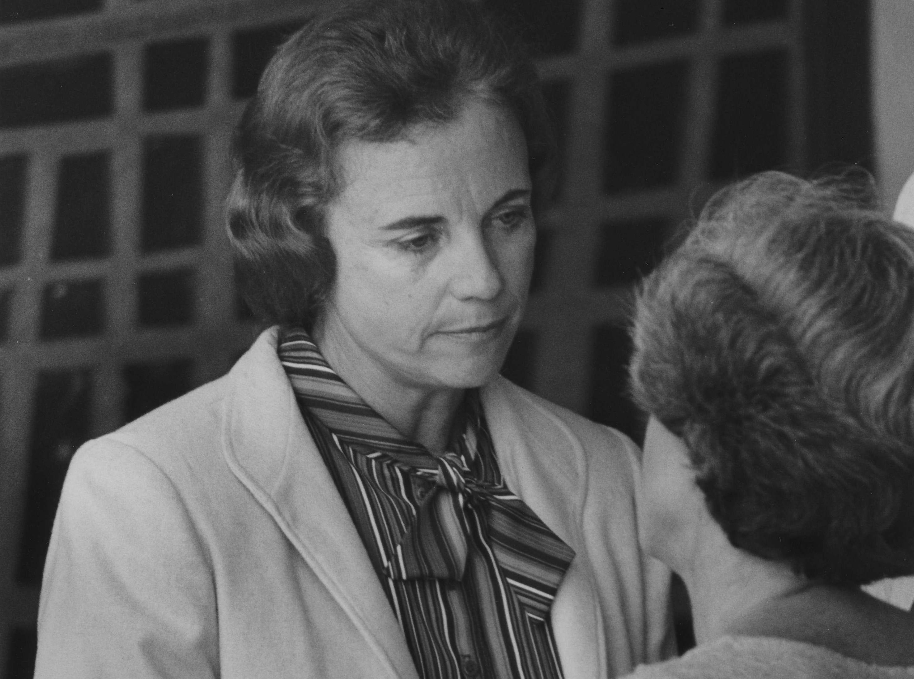 Sandra Day O'Connor on Sept. 9, 1981.