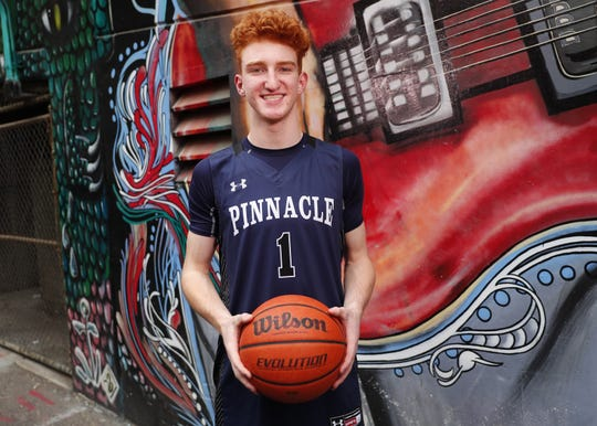 Pinnacle High School's Nico Mannion is one of the eight nominees for Arizona High School Boys Basketball Player of the Year 2017-18. #AZCSA