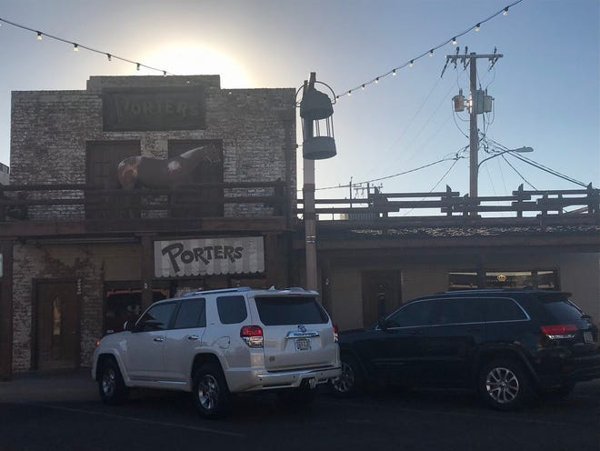 A western-themed saloon is planned for Scottsdale's historic Porters building, the site of Scottsdale's first post office building on Main Street and Brown Avenuein Old Town.