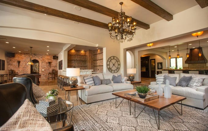Arizona Cardinals wide receiver Larry Fitzgerald has put his 9,300-square-foot Paradise Valley mansion on the market for $5 million.