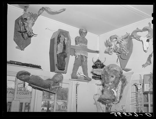 Some of Homer Tate's more interesting creations. (May 1940.)