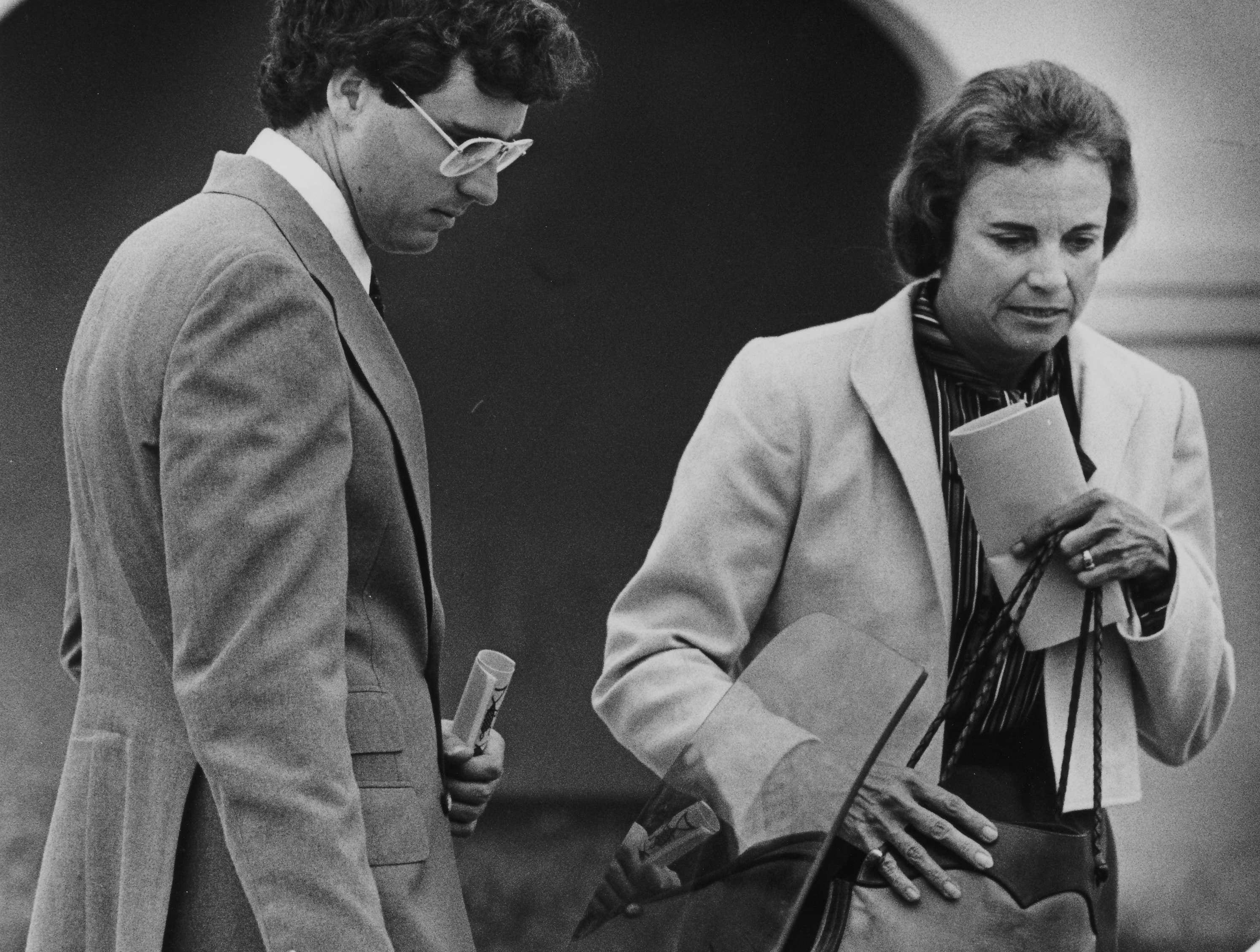 A file photo of Sandra Day O'Connor on Sept. 22, 1981.