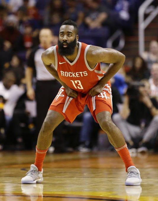 Houston Rockets Vs Phoenix Suns 2017