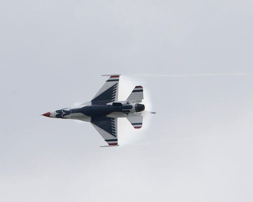 Ny Air Show Usaf Thunderbirds